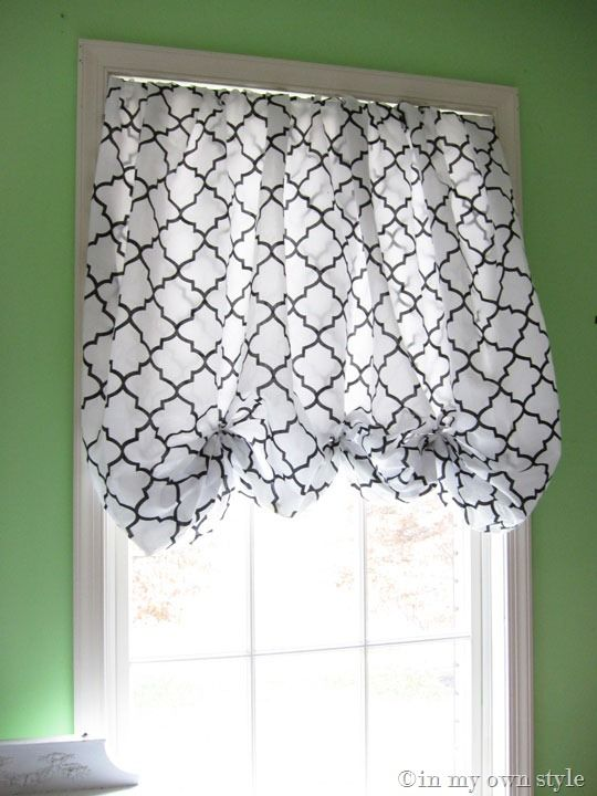 In An Instant No Sew Window Treatment Tablecloths Half