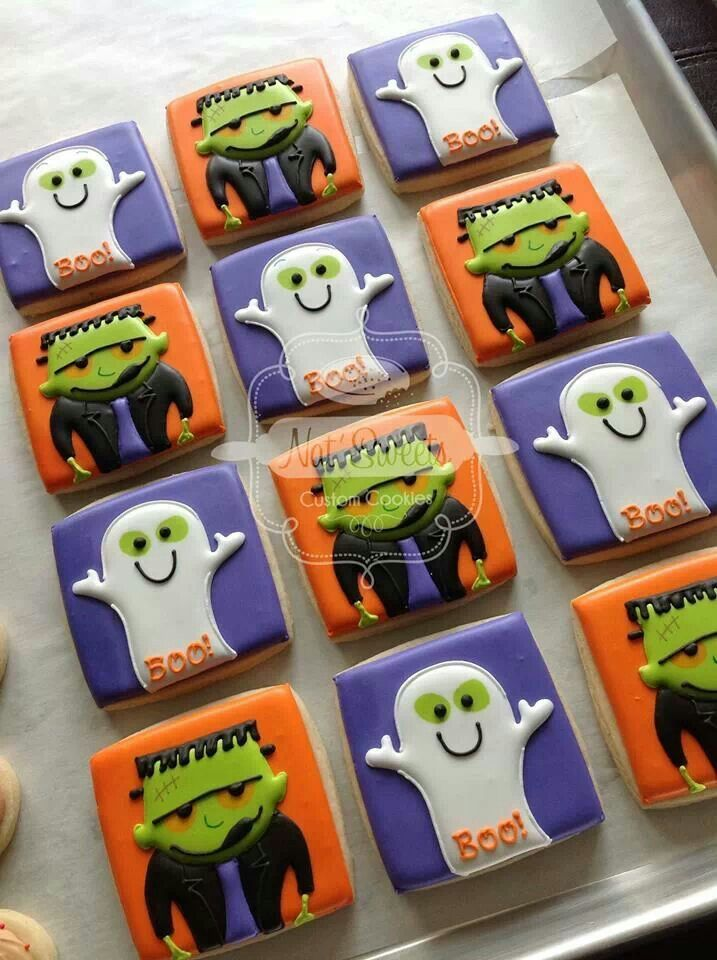 top 17 frankenstein cookies designs for halloween cheap easy party snack food easy idea