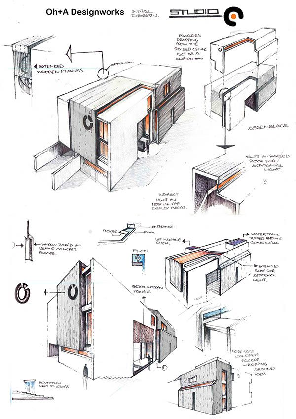 Oh+A Designworks Conceptual Development of Projects and Design Ideas