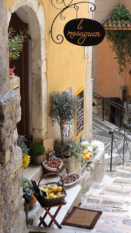 Roquebrun-Cap-Martin, France Would love to have this at our office entrance. Hmmmmm