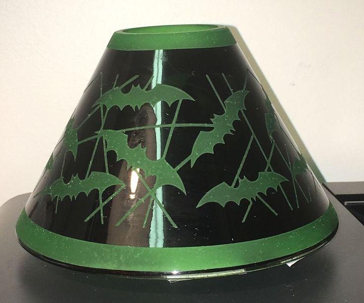 GOTHIC HALLOWEEN YANKEE CANDLE VAMPIRE BATS CANDLE SHADE TOPPER NEW BATTY BATS #YankeeCandle #Holiday
