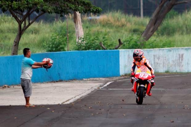 Marquez dan Pedrosa Pamer Kebolehan di Sirkuit Sentul