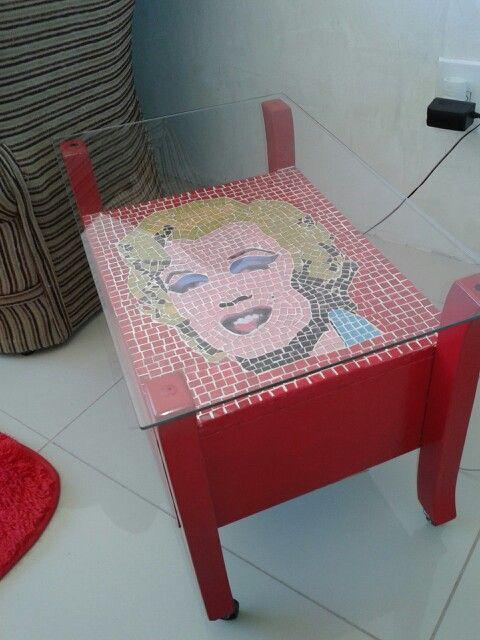 Mesa de Mosaico Marilyn