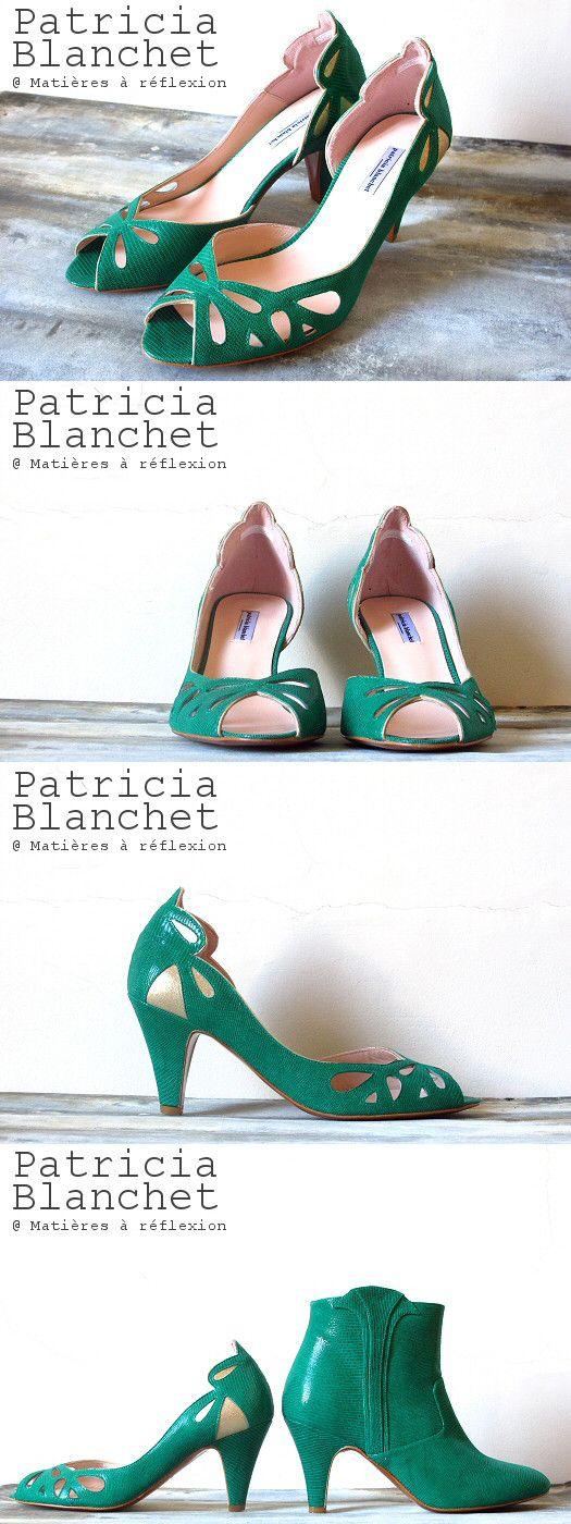 Patricia Blanchet escarpins verts Findouce #patriciablanchet #escarpins #pumps #stiletto #vert #fashion #escarpinvert #findouce #ss15