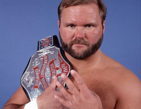 "NWA World Television Champion ""The Enforcer"" Arn Anderson Arn was always my favorite Horseman."