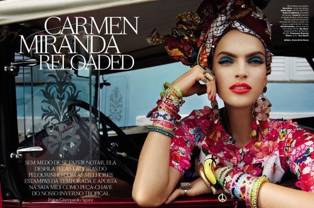 Carmen Miranda... Tropical