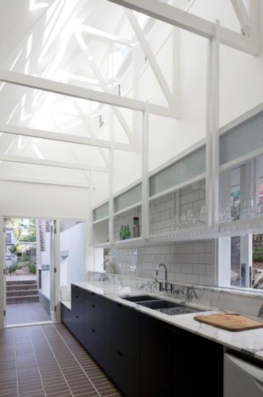 desire to inspire - desiretoinspire.net - Four RoomCottage: kitchen  Owen and Vokes