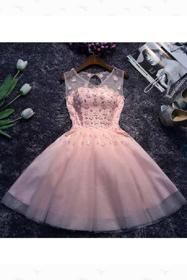 a6a8a8ba8ce Excellent A-Line A-line Homecoming Dress Scoop Short Mini Prom ...