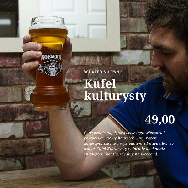 Idealny pomysł na prezent zarówno dla wielbicieli aktywności fizycznej jak i piwa. Hantelek... na małe jasne!