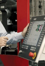 Mosaic Tab Controls VITESSE hydraulic and hybrid injection molding machines