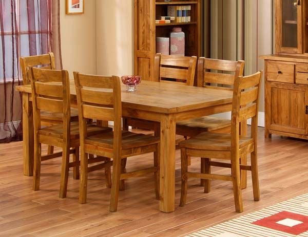 Solid wood dining table. Best 25  Wooden dining table designs ideas on Pinterest   Dining