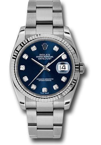 Rolex Oyster Perpetual Datejust 36 Watch 116234 bldo