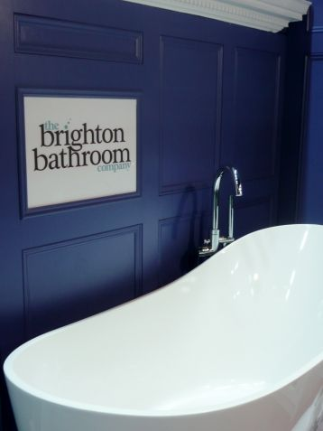 Pitch blue Bathroom farrow & ball
