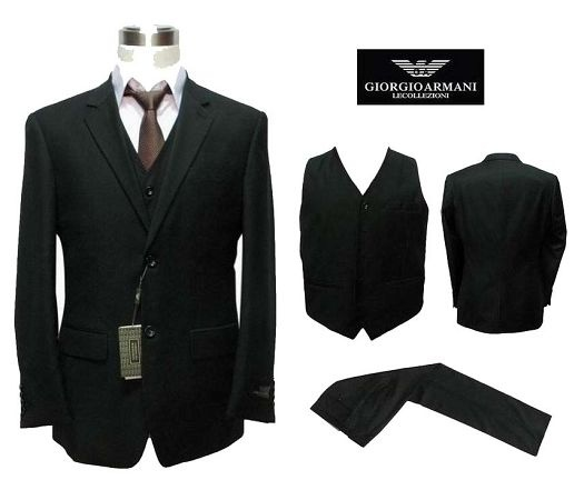 Gorgeous Armani Suit instead of a prom tux.