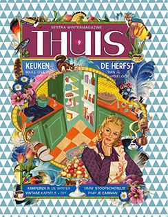 Sestra Magazine THUIS.| Superleuk wintermagazine. Te koop via de Chr. boekwinkel, Bruna, uitgeverij jongbloed en www.bykris.nl