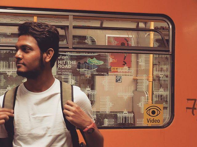 """Hit the road.  #travel #travelgram #train #metro #ubahn #friday #weekendishere #orangeisthenewblack #chill #chennai #indian #jena #berlin #germany #student #europe #irrelevanthashtags"" by @abhi.samp. #fslc #followshoutoutlikecomment #TagsForLikesFSLC #TagsForLikesApp #follow #shoutout #followme #comment #TagsForLikes #f4f #s4s #l4l #c4c #followback #shoutoutback #likeback #commentback #love #instagood #photooftheday #pleasefollow #pleaseshoutout #pleaselike #pleasecomment #teamfslcback…"