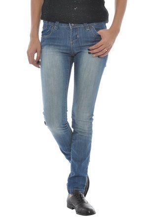 Jeans din bumbac pentru femei