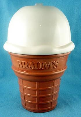 Braums Ice Cream Cone