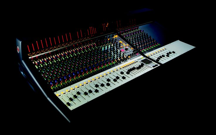 Neve mixing console UI