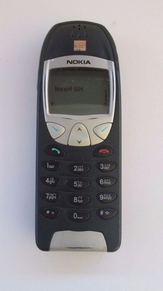 Nokia 6210 - Blue (Orange) Mobile Phone +++Excellent Condition +++ SALE+ #Nokia #Bar
