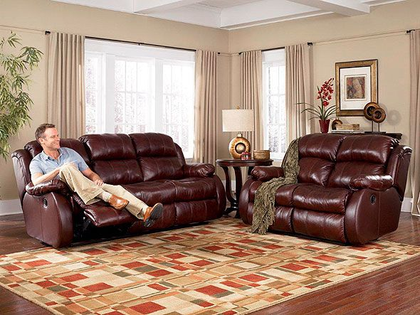 Burgundy And Brown Living Room Living Rooms Decor