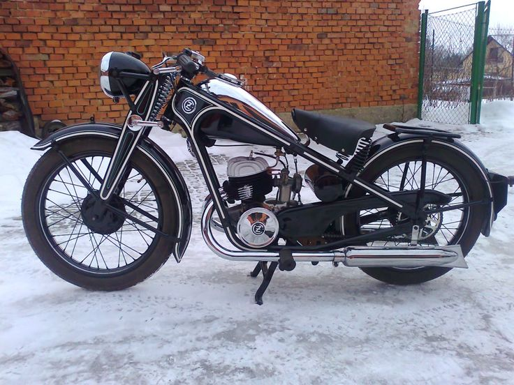 CZ 175, what a beauty before WW2 #motorcycles #motorbikes #Czechia