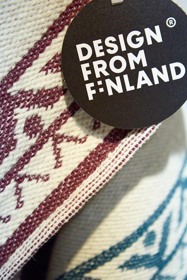 Kodin1, Anno Habitare-messuilla Design from Finland -osastolla (7H68) 11.-14.9.2014. Jalpaikka -matto. #habitare2014