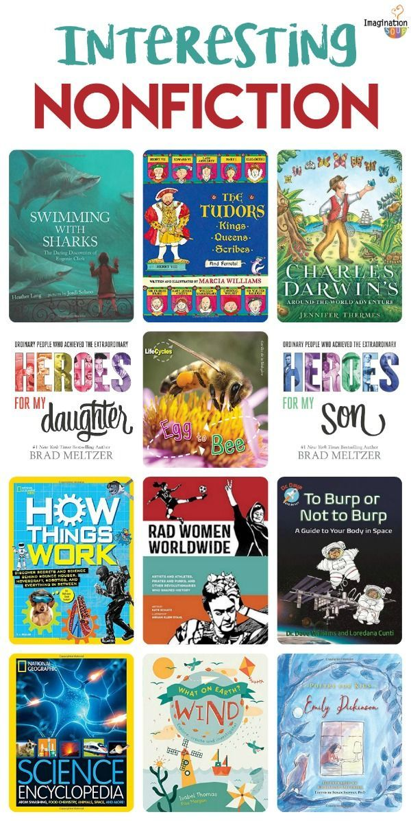 interesting nonfiction books for kids -- great science and history children's books