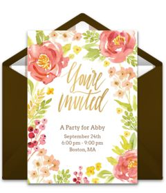 Browse our collection of free Fall party invitation templates. We love this free digital invite, perfect for inviting friends to a Fall party, Thanksgiving dinner, and more.