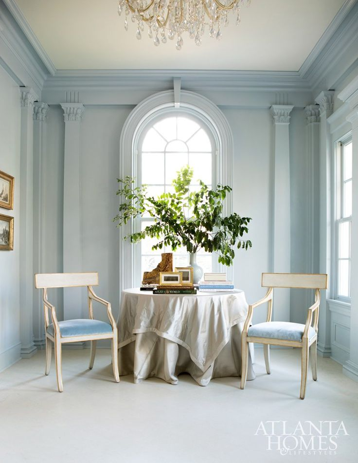 A 1920s Jewel Box By Suzanne Kasler Skirted TableArchitectural FirmAtlanta