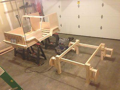 Planes de trabajo de madera de cama Jeep-Hazlo tú mismo niños cama