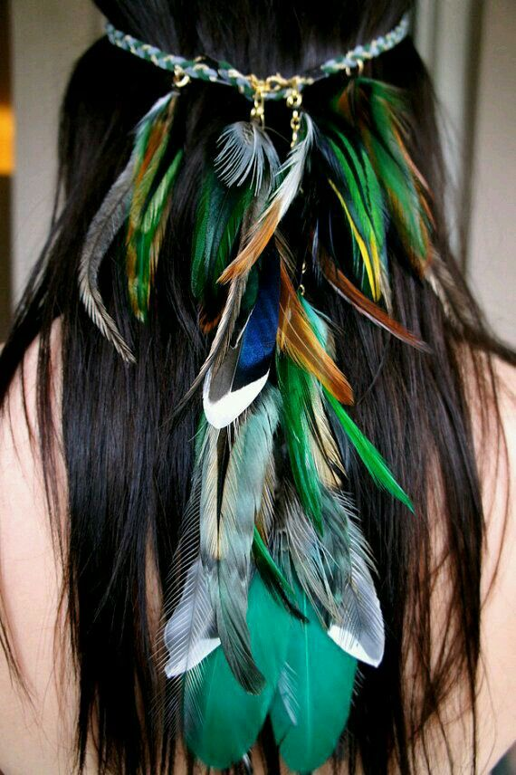 Feathers - SO INCREDIBLY BEAUTIFUL!! - COULD BE WORN ANYWHERE, FOR ANYTHING, ANY TIME!! - JUST GORGEOUS!!