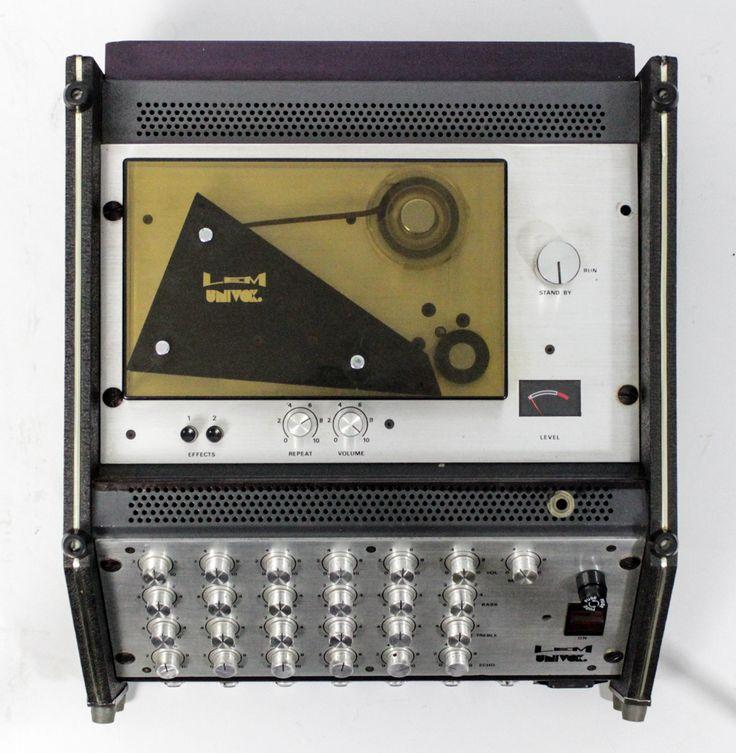 univox lem tape delay mixer hardware in 2019 tape echo music pedalboard. Black Bedroom Furniture Sets. Home Design Ideas