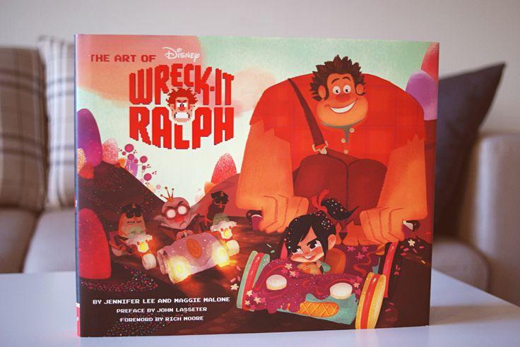 The art of Wreck it Ralph eli Räyhä-Ralf -taidekirja - Disnerd dreams