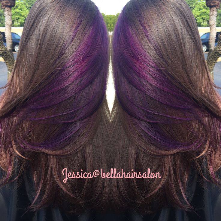 The 25 best purple peekaboo hair ideas on pinterest purple this color purple pmusecretfo Gallery