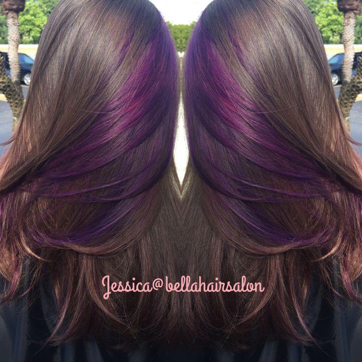 Purple peekaboos