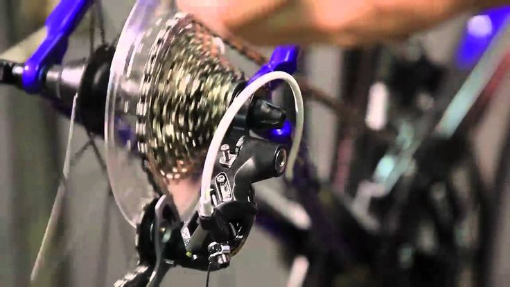 How to Adjust a Rear Derailleur by Performance Bicycle.