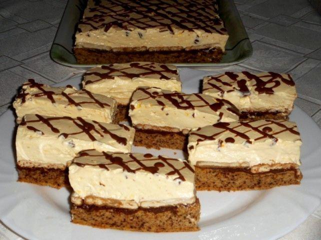 Ingrediente pentru blat: 6 ouă, 200g zahăr, 50ml ulei, 100g nucă măcinată, 160g făină, un plic praf de copt (10g) Ingrediente pentru cremă: 4 gălbenusuri, 150g zahăr, 125g unt , 2 lingurite ness, 200g biscuiti Ingrediente pentru glazură: 100g ciocolată, 50g unt, 50ml friscă lichidă Ingrediente pentru sirop: o cescută apă, o cescută zahăr, o fiolă esentă de rom Mod de preparare Prepararea blatului. Albușuri se mixează spumă cu zahărul, se incorporează gălbenusurile, in fir subtire se…