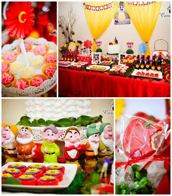 Snow White Themed Birthday Party Kara's Party Ideas