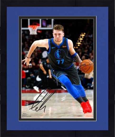 c73f7551 Framed Luka Doncic Dallas Mavericks Autographed 16