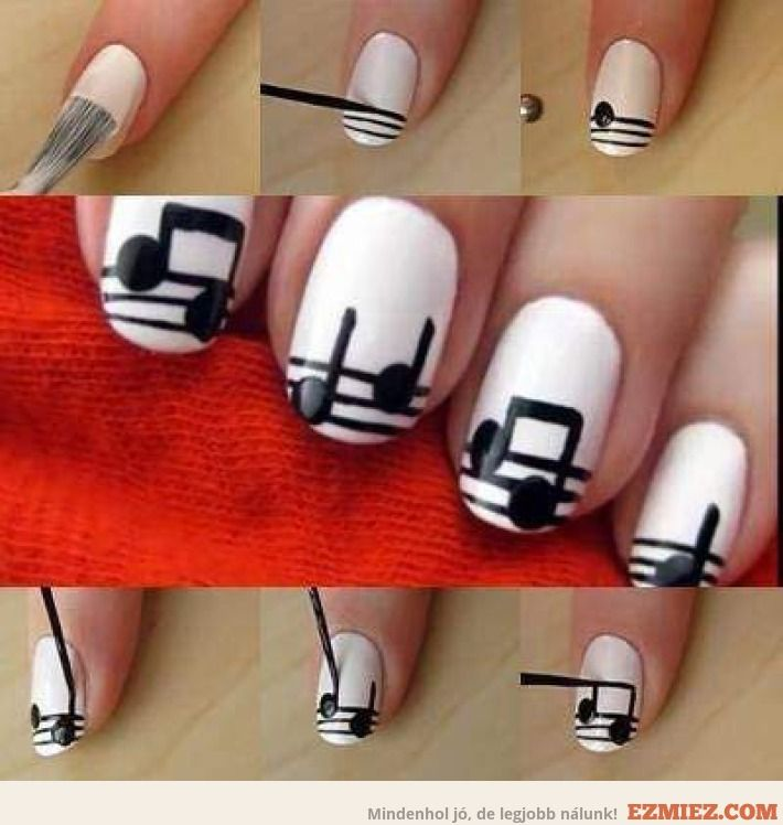 The 25 best music nails ideas on pinterest music note nails the 25 best music nails ideas on pinterest music note nails music nail art and concert nails prinsesfo Choice Image
