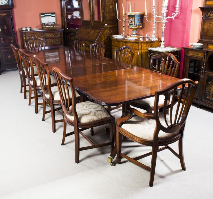An antique dining table and chair set fit for a queen 42 best Table and chair sets images on Pinterest   Dining tables  . Antique Dining Room Chair Sets. Home Design Ideas