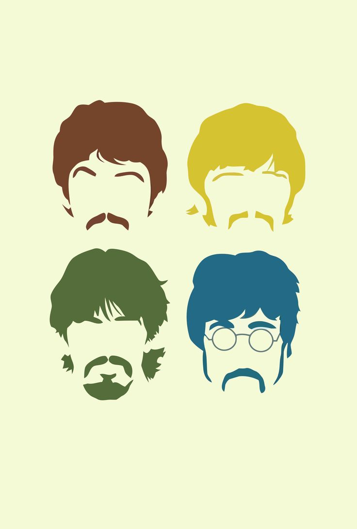 Paul, Ringo, George, John