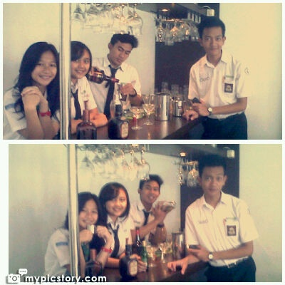 tooking picstory! Bartending funniest!