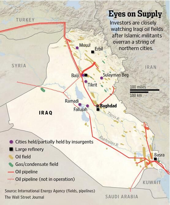 Best Maps Of Oil Pipelines In The Middle East Images On - Map of us troops on iraq and oil piplines