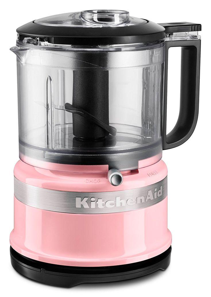 Pink kitchenaid mini food processor guava glaze