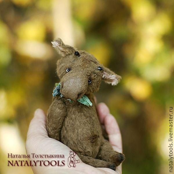 Elk OOAK teddy Купить лось Григорий. просто лось. молодой. - винтаж, vintage style, natalytools, авторский мишка