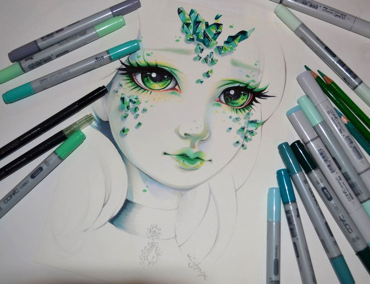Lady Emerald by Lighane