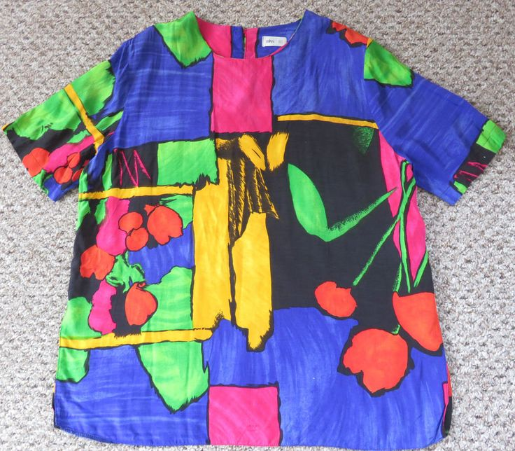 VINTAGE BHS 1980S TOP SIZE 16 HIPSTER INDIE SIZE 16 18 #BHS