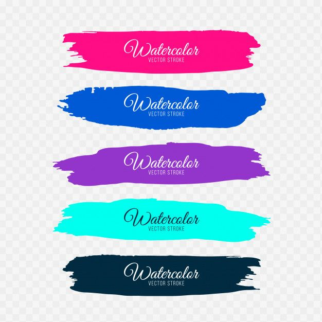 Download Modern Brush Strokes For Free Brush Stroke Vector
